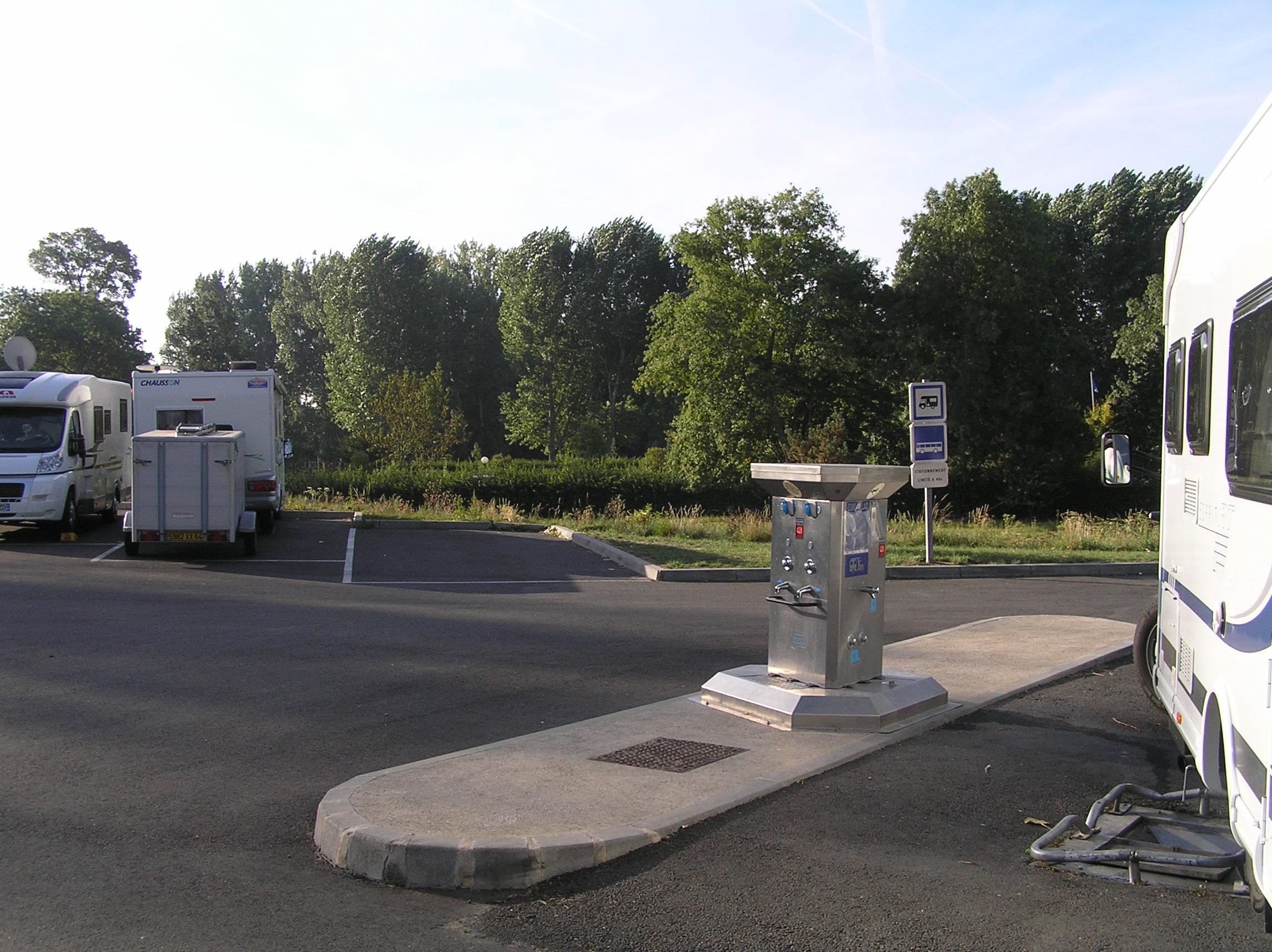 Aire de Camping-Car Vouvray