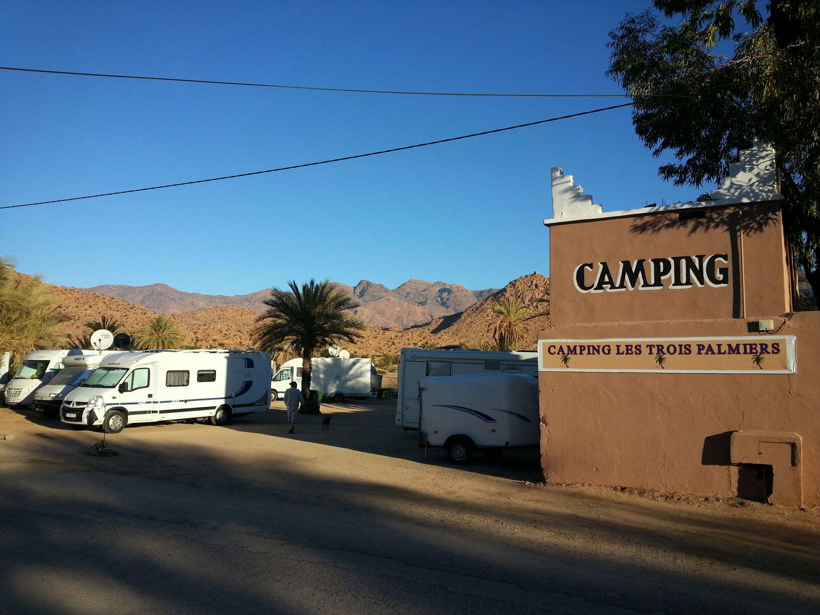 Camping les 3 palmiers