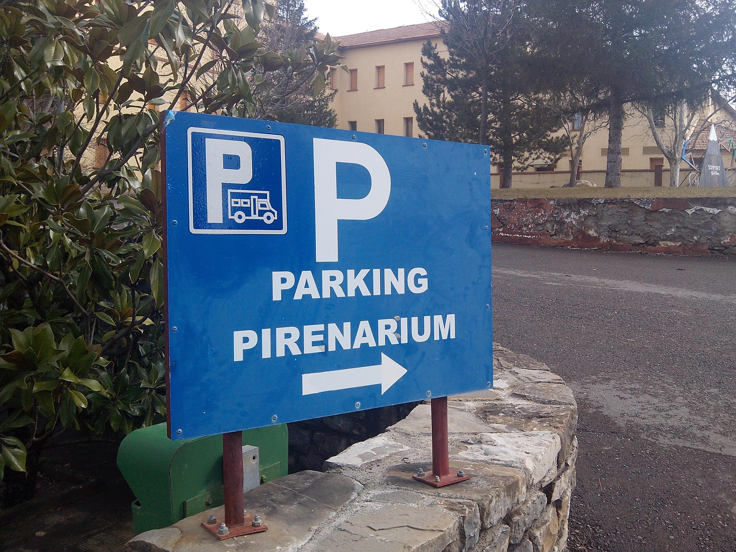 Parking Pirenarium