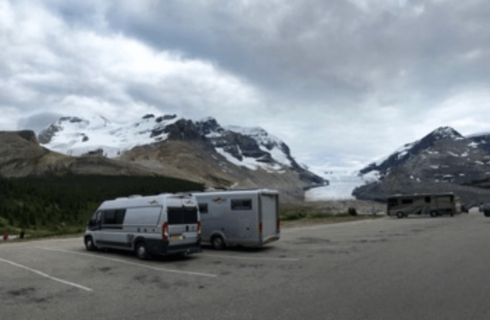 Columbia Icefield Discovery Centre RV Parking