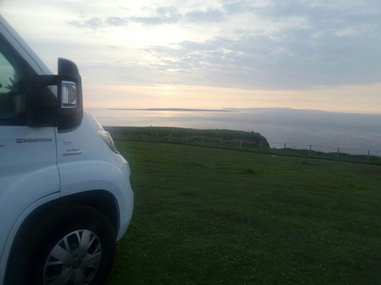 Parking Duncansby Head