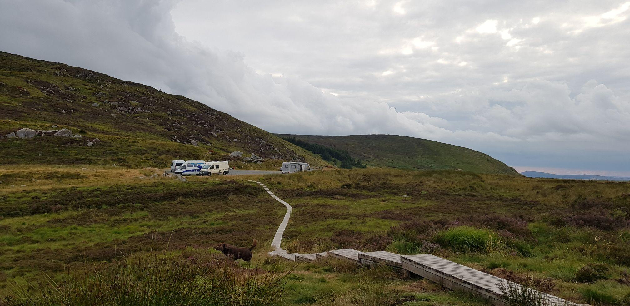 Turlough Hill dat parking
