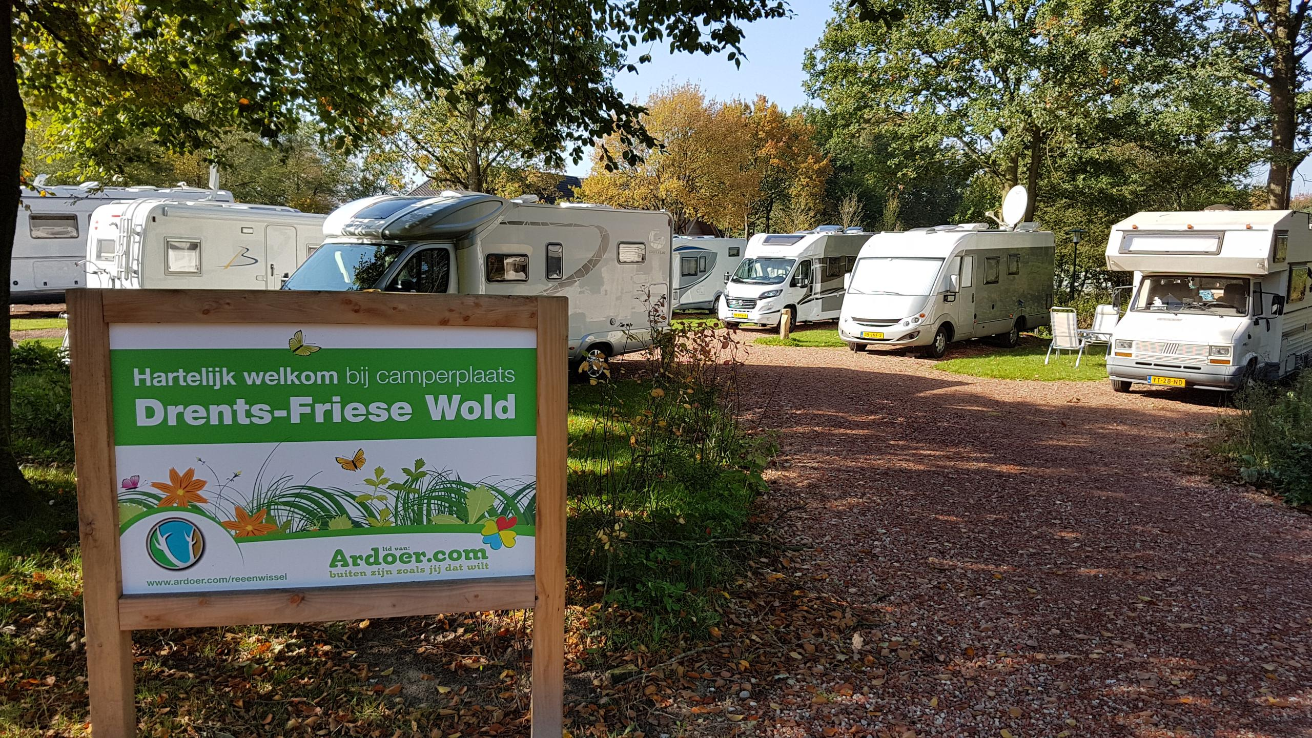 Camperplaats Drents-Friese Wold